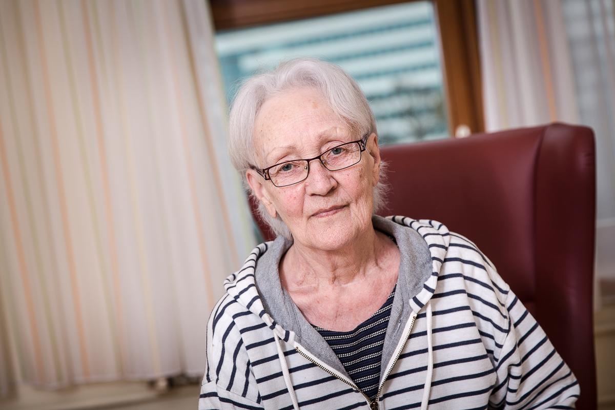 Frau Moser PATIENTIN - AKH Linz für FOCUS Deutschland